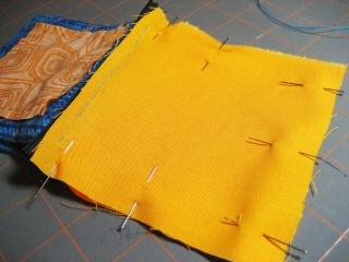 Cách may dây kéo vào ví (giỏ, túi) móc Pin-fo10