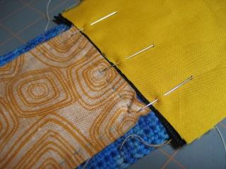 Cách may dây kéo vào ví (giỏ, túi) móc Pin-li10