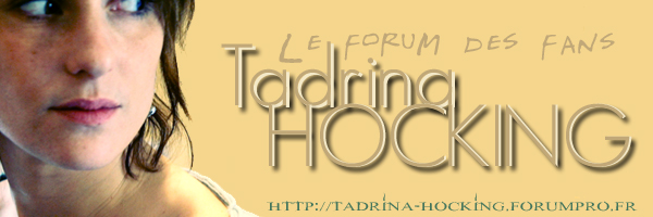 Tadrina Hocking - Le Forum des Fans