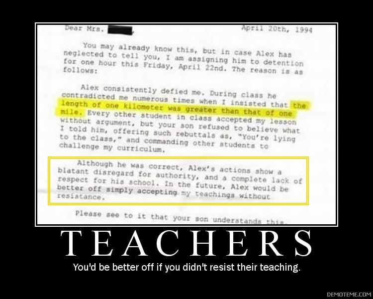 Demotivators - Page 6 Teache10