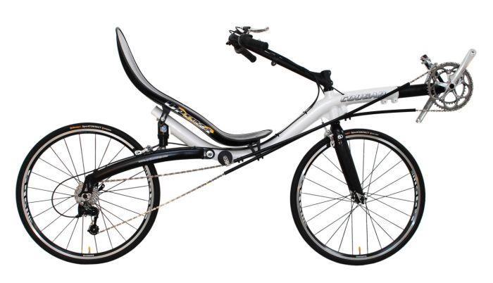 Vélo couché sans tubes Cougar11