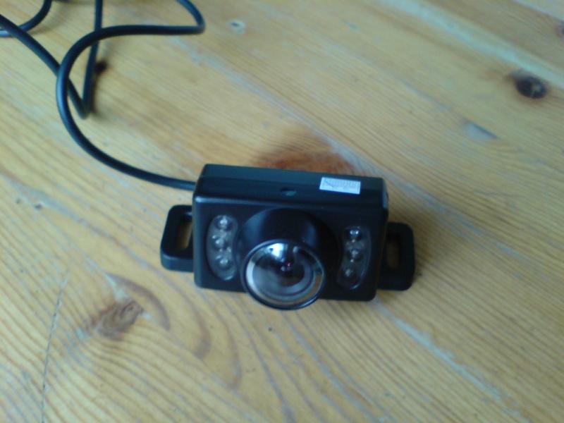 """Montage caméra de recul et écran 2.5"""" Dsc00721"""