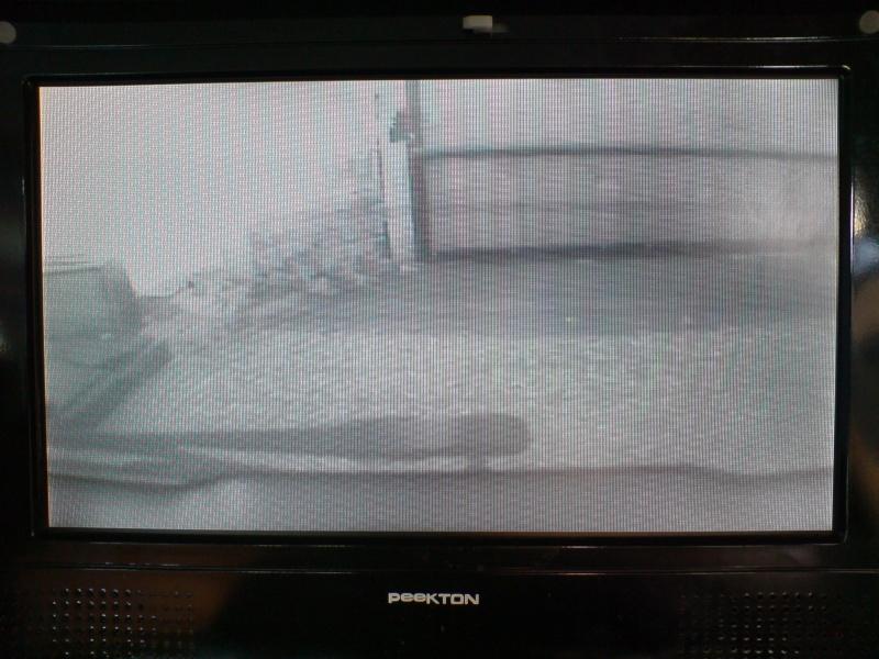 """Montage caméra de recul et écran 2.5"""" Dsc00819"""