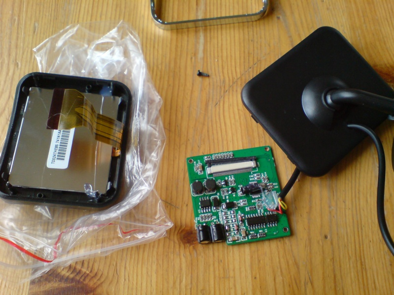 """Montage caméra de recul et écran 2.5"""" Dsc00820"""