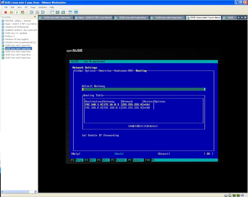 configuration yast labo 1 linux soir Screen11