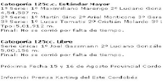 Exitosa la 8 fecha de karting en sanfracisco Arengitna Dsds10