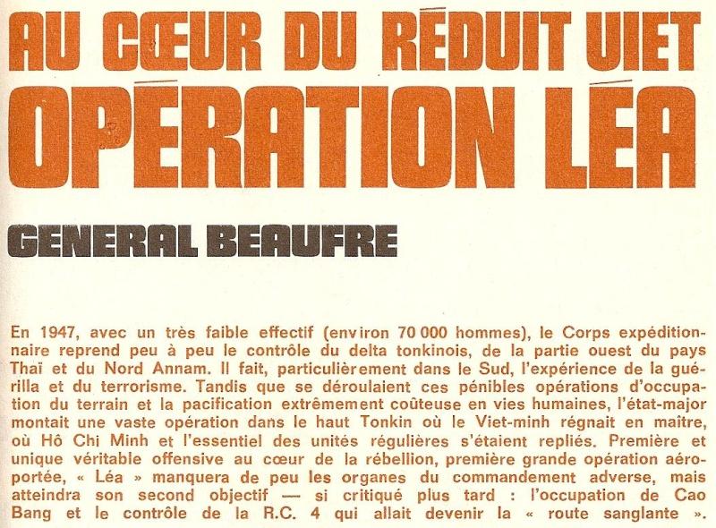 """OPERATION     """" LEA """" 01110"""