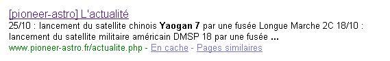 CZ-2D (Yaogan 7) - JSLC - 9.12.2009 Piece_13
