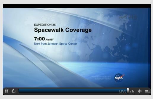 ISS, nouvelle fuite d'amoniac au segment P6 (Canal 2B) Screen72