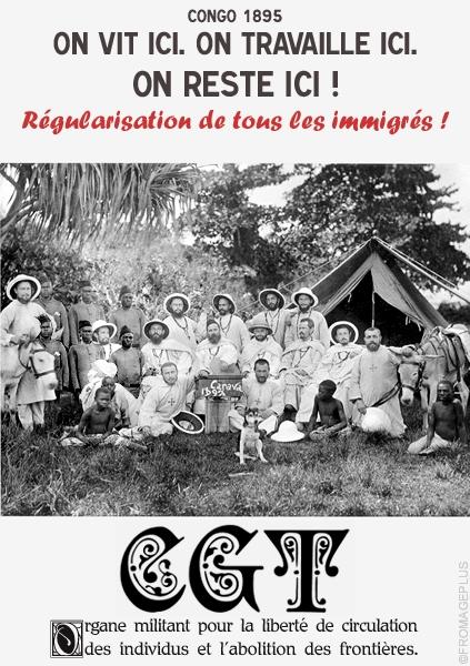 La CGT dans le monde entier contre le racisme Cgt-1810