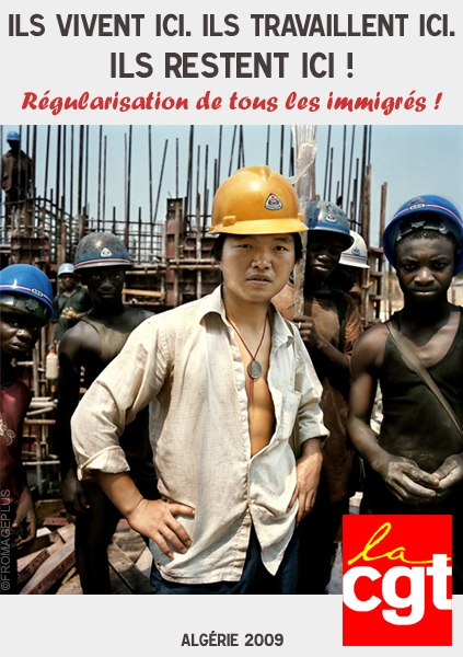 La CGT dans le monde entier contre le racisme Cgt-2010