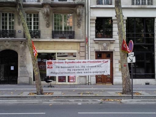 La CGT dans le monde entier contre le racisme Photo110