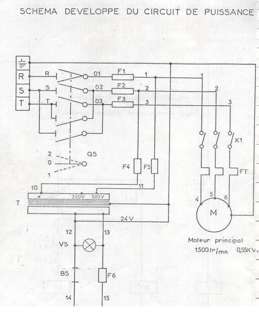Protection d'un transfo TBT  dans une machine  Syderi11