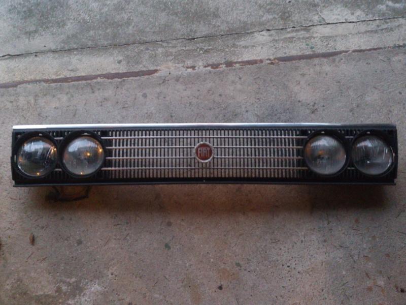 Vendo Mascherina con fari Fiat 131 Diesel Dsc_0411