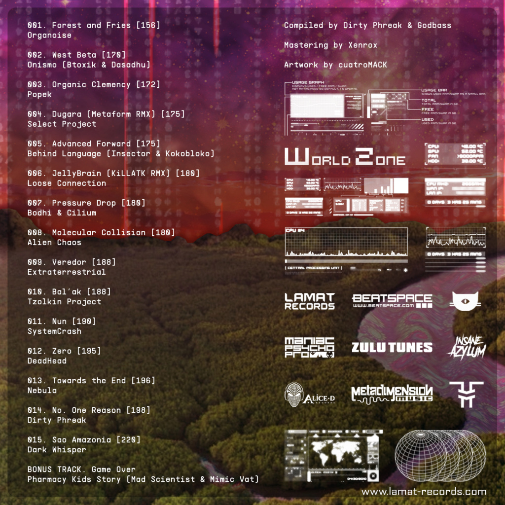 VA One Planet Compiled by Dirty Phreak & Godbass -  OUT NOW One_pl10