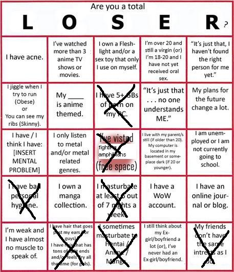 LOSER Bingo So_clo10