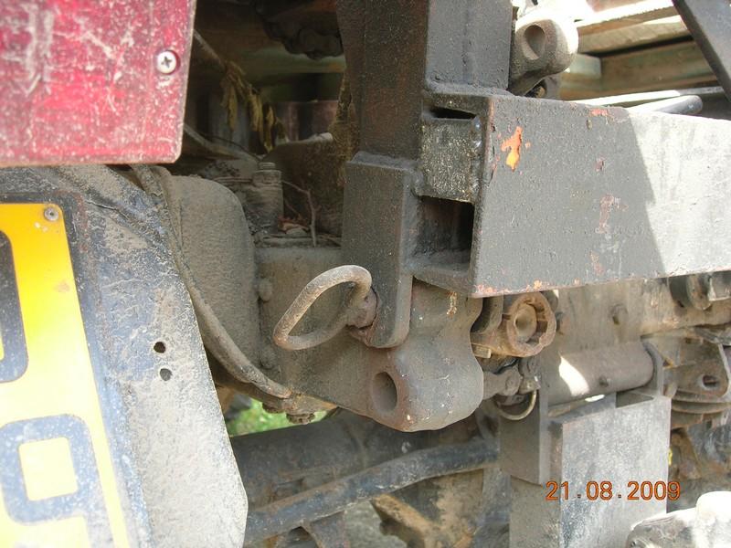 montage de treuil sur mb trac Photo_10
