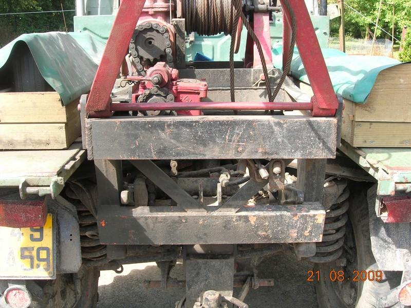 montage de treuil sur mb trac Photo_11