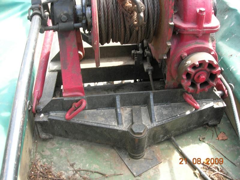 montage de treuil sur mb trac Photo_13