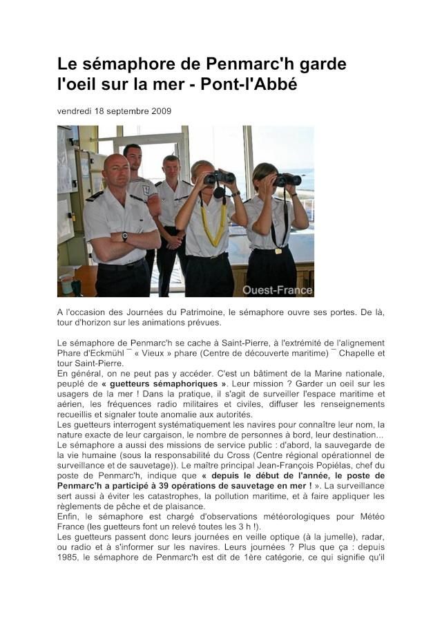 SÉMAPHORE - PENMARC'H (FINISTÈRE) Penmar12