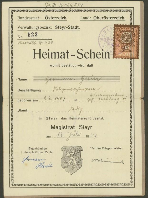 Heimat-Schein 12073711