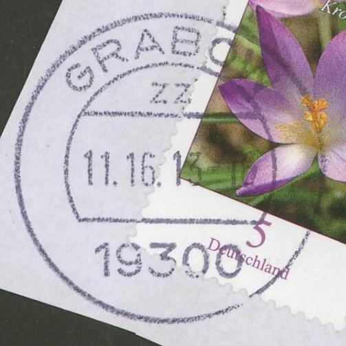 Ortsstempel aus Mecklenburg-Vorpommern Grabow10