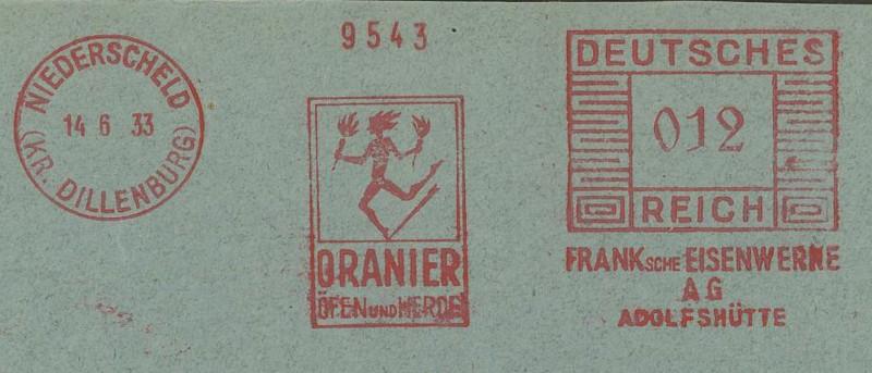 1945 - Freistempel / Absenderfreistempel Deutsches Reich (bis 1945) Nieder10