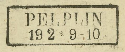 Markenlose Briefe vor 1920 (ohne Feldpost) Pelpli12