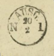 Markenlose Briefe vor 1920 (ohne Feldpost) Pelpli13