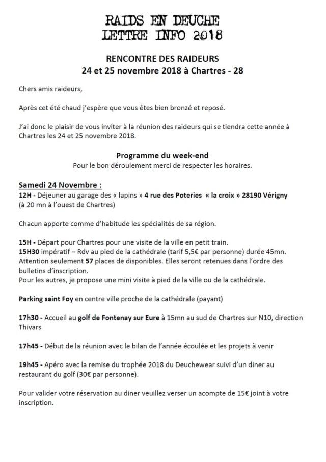 RENCONTRE RAIDEURS 2CV - CHARTRES 2018  Chartr10