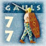 Pions et carte Bellum Gallicum II (archives) Gauloi12