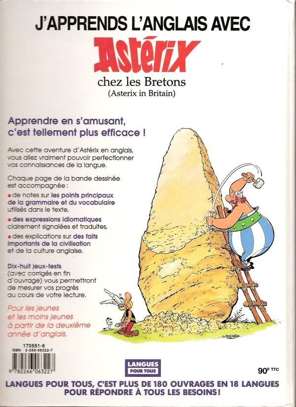 """J'apprends l'anglais avec """"Asterix chez les Bretons"""" Aprend10"""