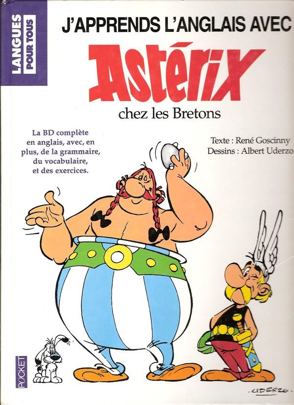 """J'apprends l'anglais avec """"Asterix chez les Bretons"""" Aprend12"""