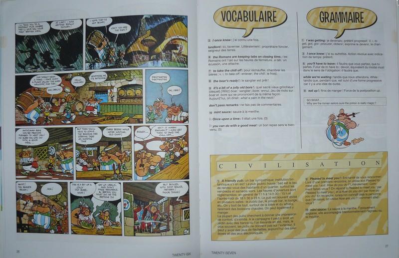 """J'apprends l'anglais avec """"Asterix chez les Bretons"""" Aprend14"""