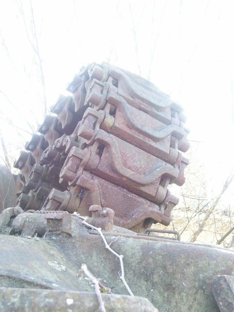 M4A4 SHERMAN CRAB [DRAGON 1/35] la résurection d'un projet abandonné Chenil10