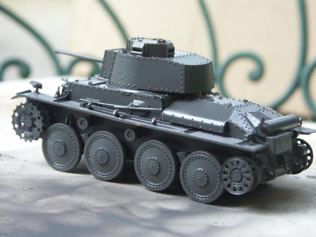 Panzer 38(t) Ausf E/F Tristar 1/35 Gris210