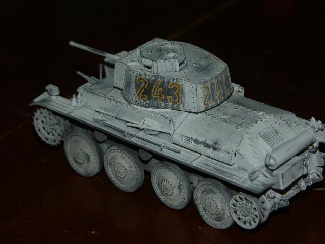Panzer 38(t) Ausf E/F Tristar 1/35 Hiver210