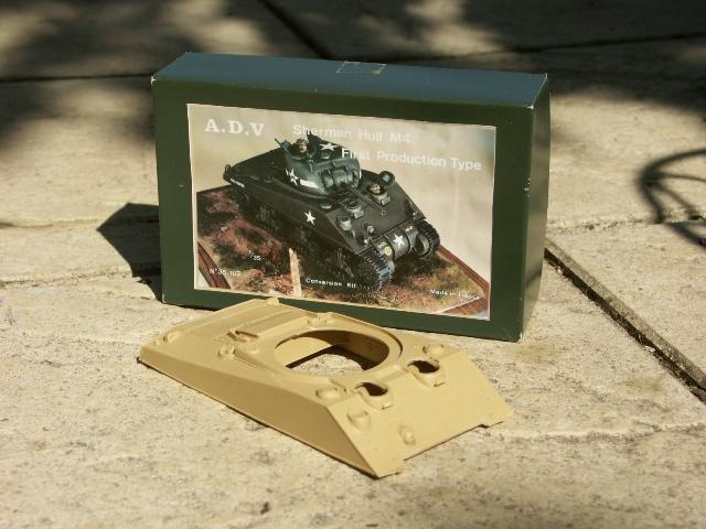 M4 SHERMAN DV [divers 1/35] : Le recyclage façon 1/35 ! Kit_ra10