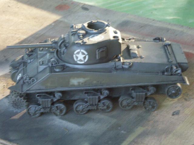 M4A4 SHERMAN CRAB [DRAGON 1/35] la résurection d'un projet abandonné M4a4_b10