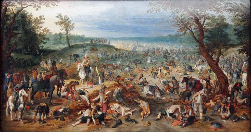 Les peintures de Sebastian Vrancx du début XVII°. 03095910