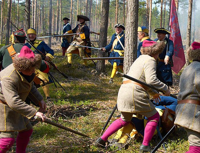 Bataille de Gangut 1714 la Grande Guerre du Nord. 0910