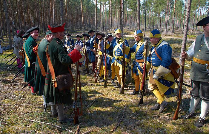 Bataille de Gangut 1714 la Grande Guerre du Nord. 1010