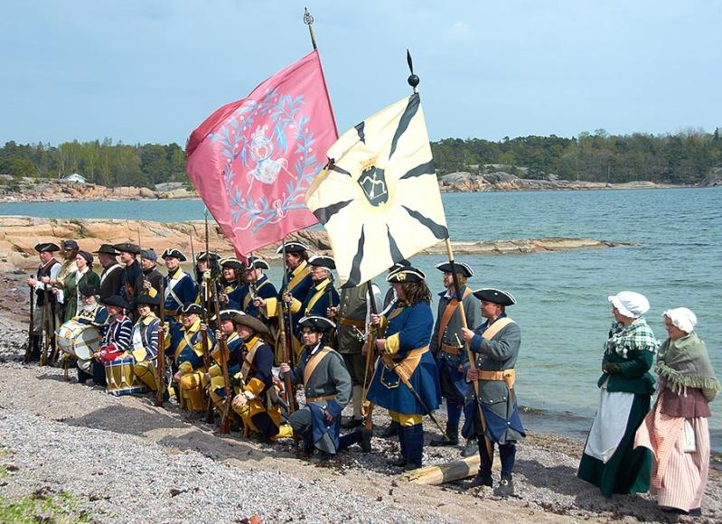 Bataille de Gangut 1714 la Grande Guerre du Nord. 3210