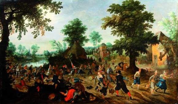 Les peintures de Sebastian Vrancx du début XVII°. 40771810