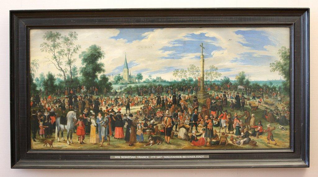 Les peintures de Sebastian Vrancx du début XVII°. D2167610