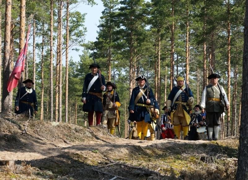 Bataille de Gangut 1714 la Grande Guerre du Nord. Dsc05610
