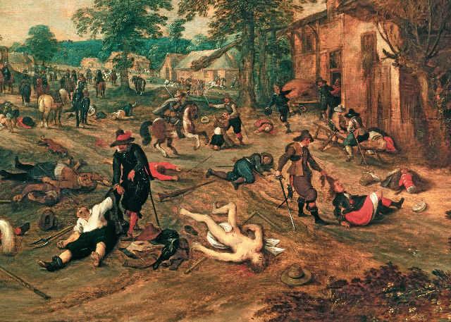 Les peintures de Sebastian Vrancx du début XVII°. Sebast10