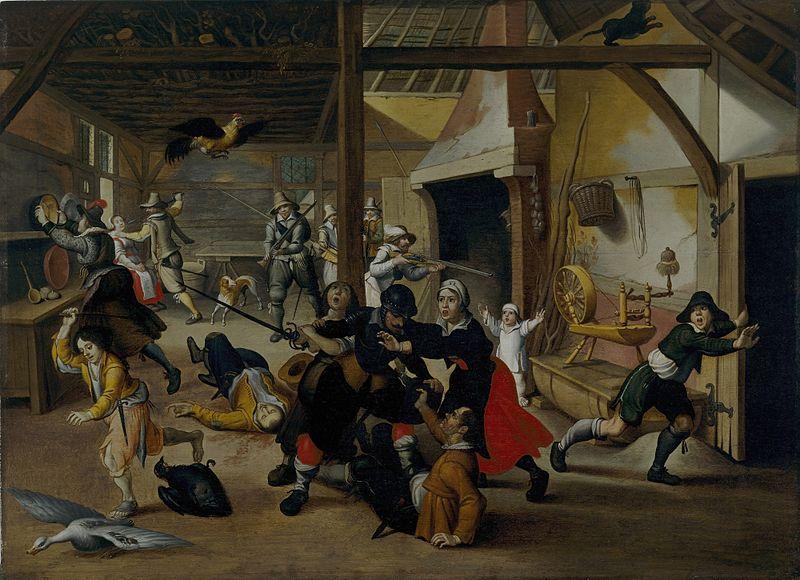 Les peintures de Sebastian Vrancx du début XVII°. Vrancx10