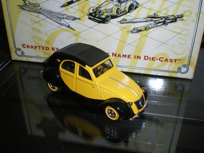 Citroën 2CV - 1957  - Dinky DY 32 - Matchbox Collection. Imgp1210