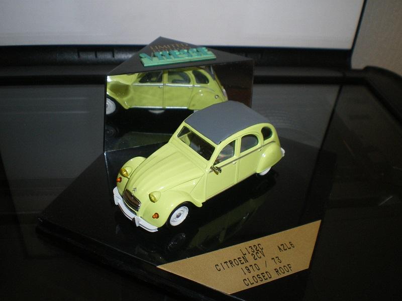Citroën 2CV - Vitesse 1/43. Imgp1831